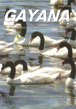 Gayana Volumen 79 Número 2 de 2015
