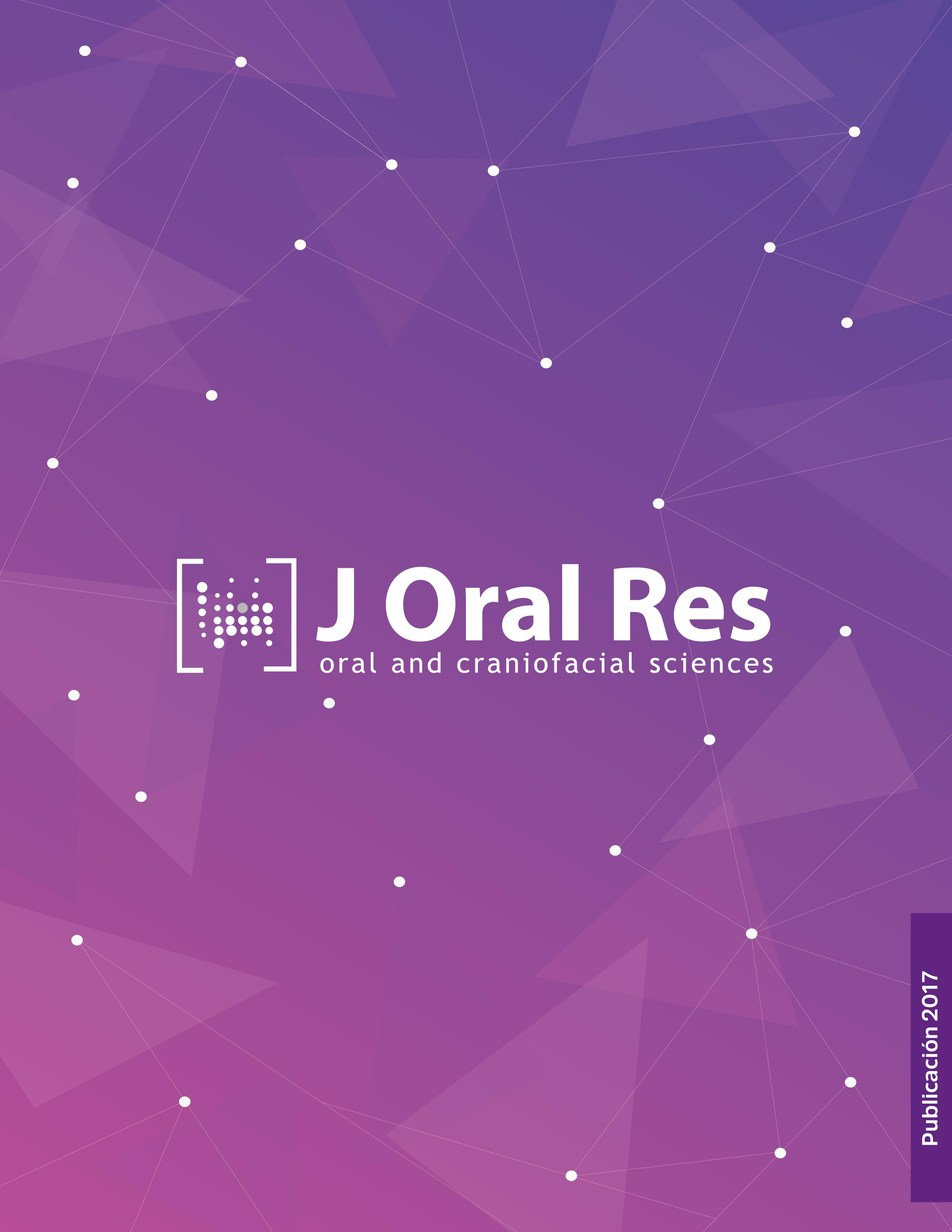 Journal Oral Research Vol.6 número 3 de 2017