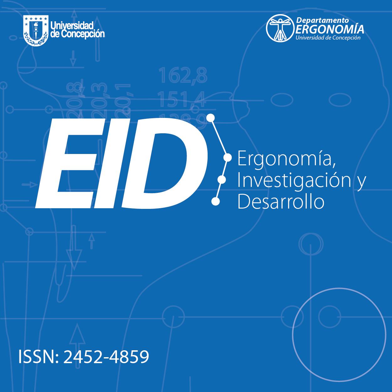 Ergonomía, Investigación y Desarrollo 2019